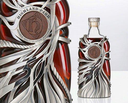 酒瓶的雕琢艺术