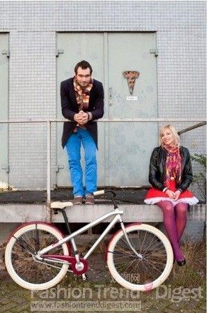 复古OR潮流 自行车重返街头