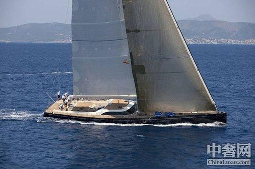 超级帆船赢得Superyacht杯
