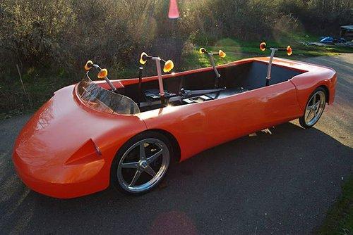 英国研制出新型人力驱动汽车