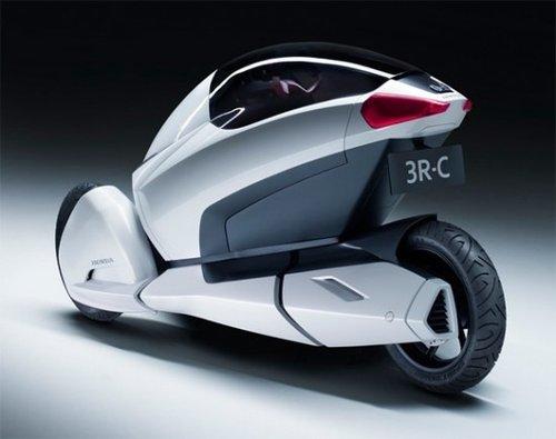 本田最新推出3R-C概念车(图)