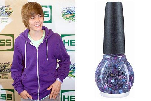 Justin Bieber女生专用甲油