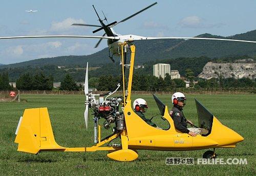 70万 Magni Gyro M-22旋翼机