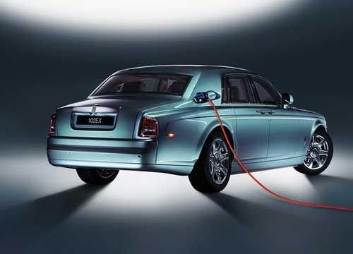 劳斯莱斯首款电动豪车(图)