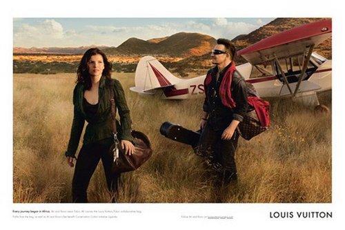 球王退位 U2主唱登上LV广告