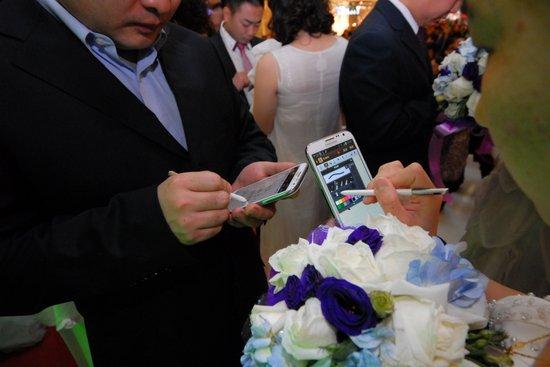 三星GALAXY Note Ⅱ创写新爱情引爆创世纪婚礼