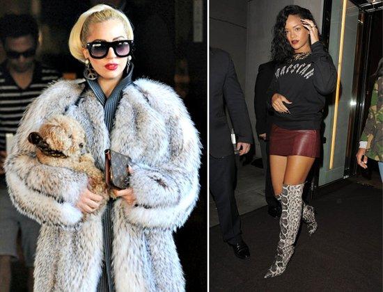 穿皮草 Lady Gaga被批怪胎