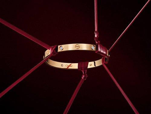 卡地亚推出Cartier Love系列