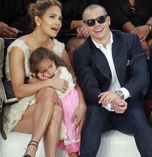 超级巨星Jennifer Lopez巴黎时装周一日游