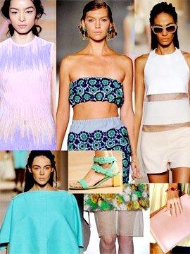 2012米兰春夏时装周流行趋势盘点