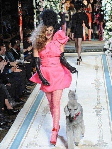 Lanvin for H&M纽约秀场大赏
