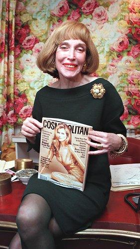 97神马神夏同学-1997年的布朗女士,她重塑了《时尚 Cosmopolitan》杂志.-女性解放