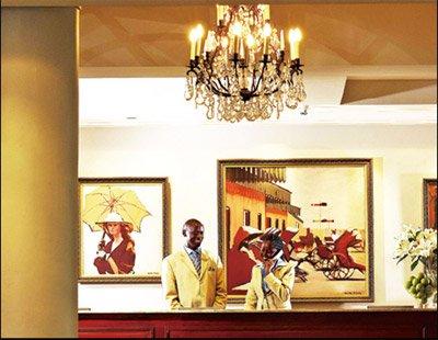 内罗毕:先有酒店后有城市
