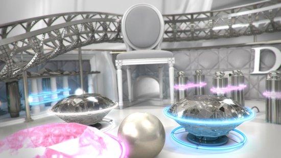 3D展示一条Dior项链的诞生