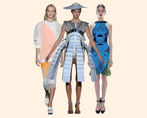 高科技的时尚时代正萌芽