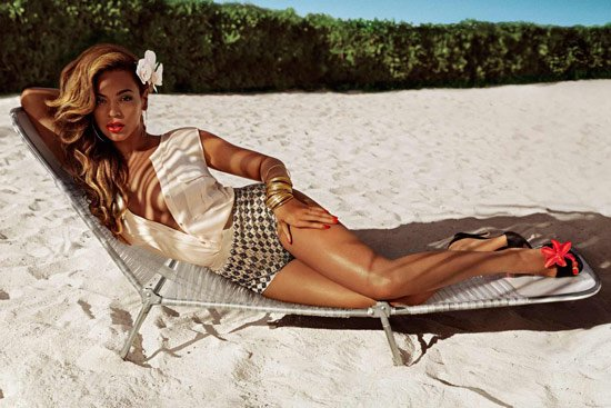 H&M确认Beyonce夏日性感代言