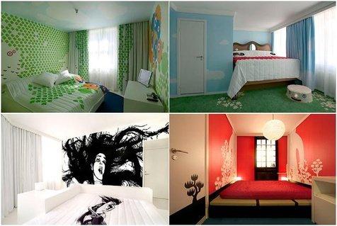 21位设计师拼贴的创意酒店图片