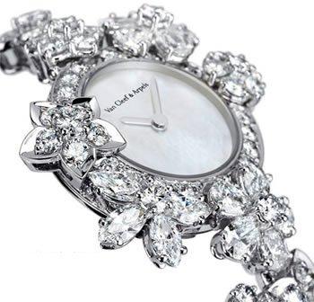 """令人瞩目的""""顶级珠宝表""""钻石魅力"""