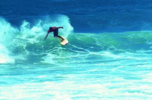 冲浪 勇者搏击海浪的运动