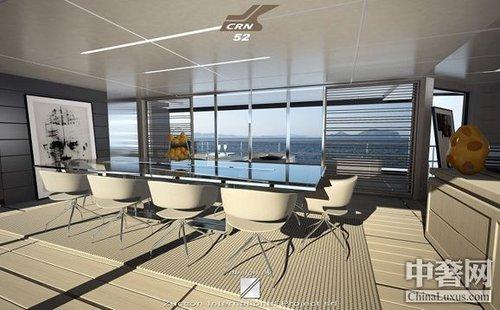 CRN推出最新设计豪华游艇