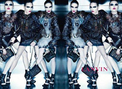 Lanvin新季广告酷似Givenchy