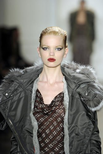 2011秋冬时装周最热门的模特