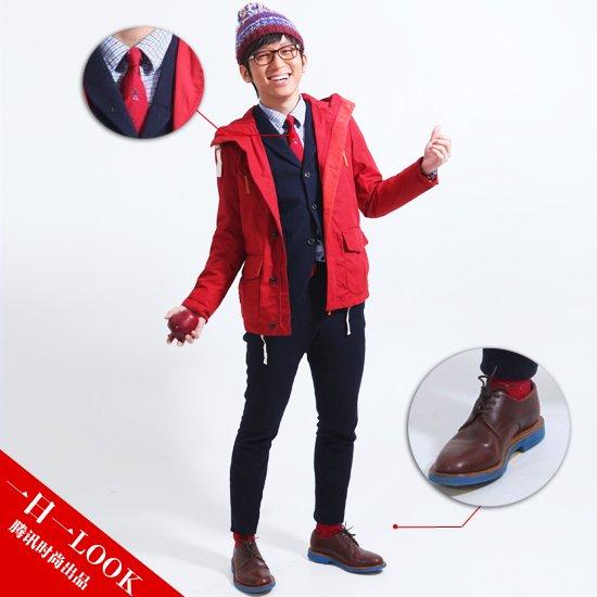 一日一LOOK:一抹红快乐度圣诞 好穿好搭随手就来