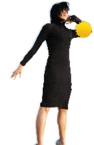 高抬贵手小黑裙也能接电话