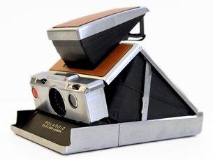 宝丽来 可折叠的单反相机