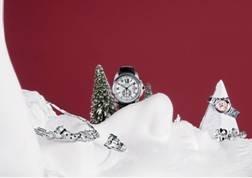卡地亚圣诞挚礼 雪国幻境