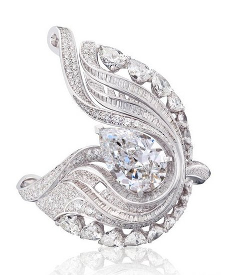 柔美轻盈的羽毛珠宝奢华盘点