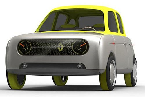 怀旧 雷诺Eleve概念车发布