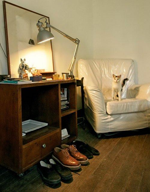 5间出租小屋里的时髦生活