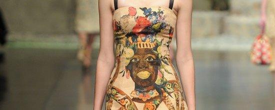 时装周大牌设计美化黑奴制