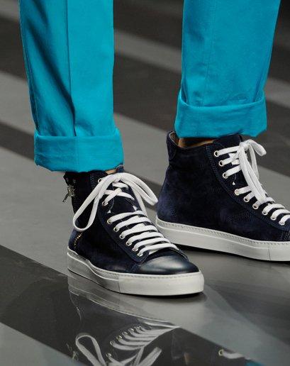2013春夏流行 T台上的运动鞋