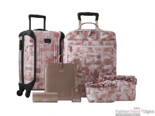 Tumi推出限量版粉红旅行系列