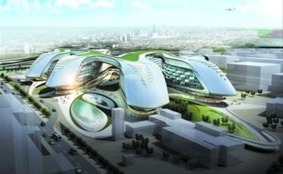 中国建筑,用SOHO玩想象设计