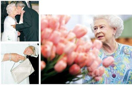 """英国女王尴尬的""""关注度"""""""