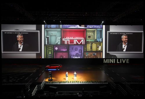 Tumi跨界打造特别涂装版MINI