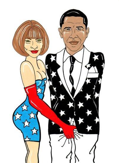 美国Vogue主编的时尚政治学