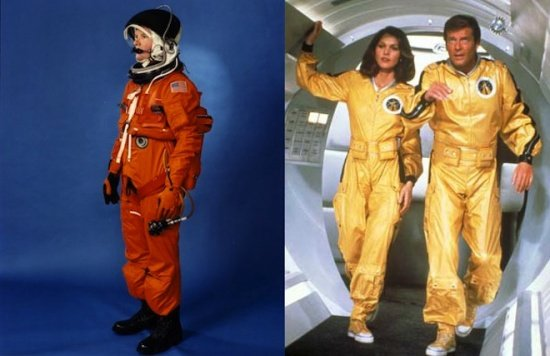 宇航服VS电影戏服 谁抄袭谁?