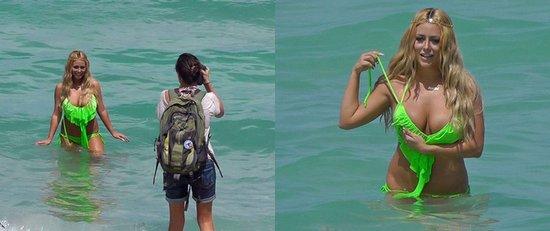 跳水女星看过来 泳装POSE这样摆