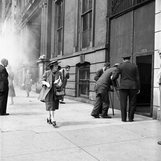 20世纪街拍女王竟是无名保姆?