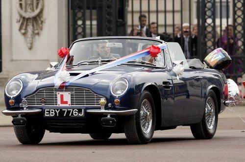 英国王子婚礼上的五款名车
