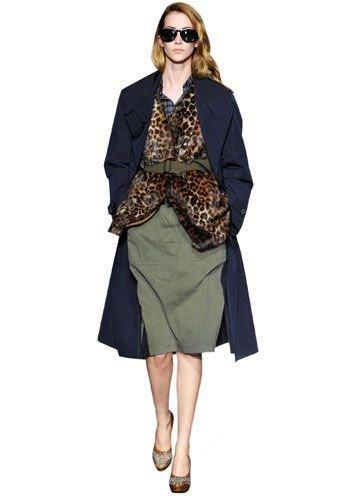 豹纹单品怎么穿?T台超模教你豹纹服装搭配出新貌