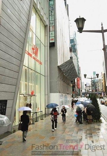 众多时尚品牌震后撤离东京