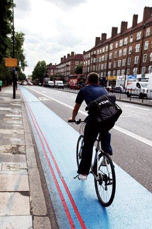 """伦敦人的""""自行车革命"""""""