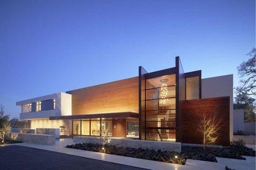 极简 谷歌前高管的现代豪宅