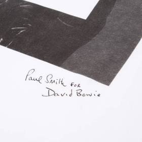 PAUL SMITH for DAVID BOWIE限量版T恤