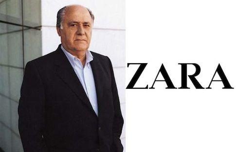 ZARA老板3千亿身家时尚圈最富
